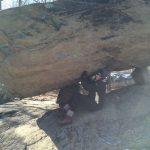 Me Under Tripod Rock
